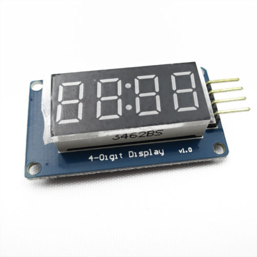 4Bits Digital Tube LED Display Module With Clock Display TM1637 for Arduino